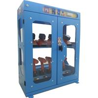 High visibility toolholders cabinet  ALL-EASY-07 with electronic open - dimensions W=800 D=450 H=1100