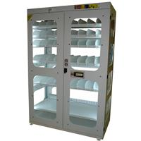 High visibility toolholders cabinet  ALL-EASY-31 with electronic open - dimensions W=1200 D=600 H=2000